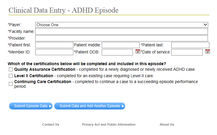 New Certification Selection Process On The Ahin Provider Portal For